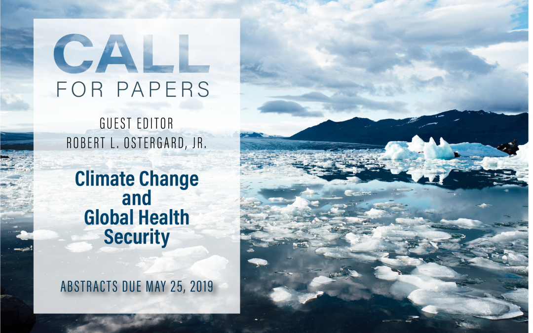 Special Issue: Climate Change and Global Health Security