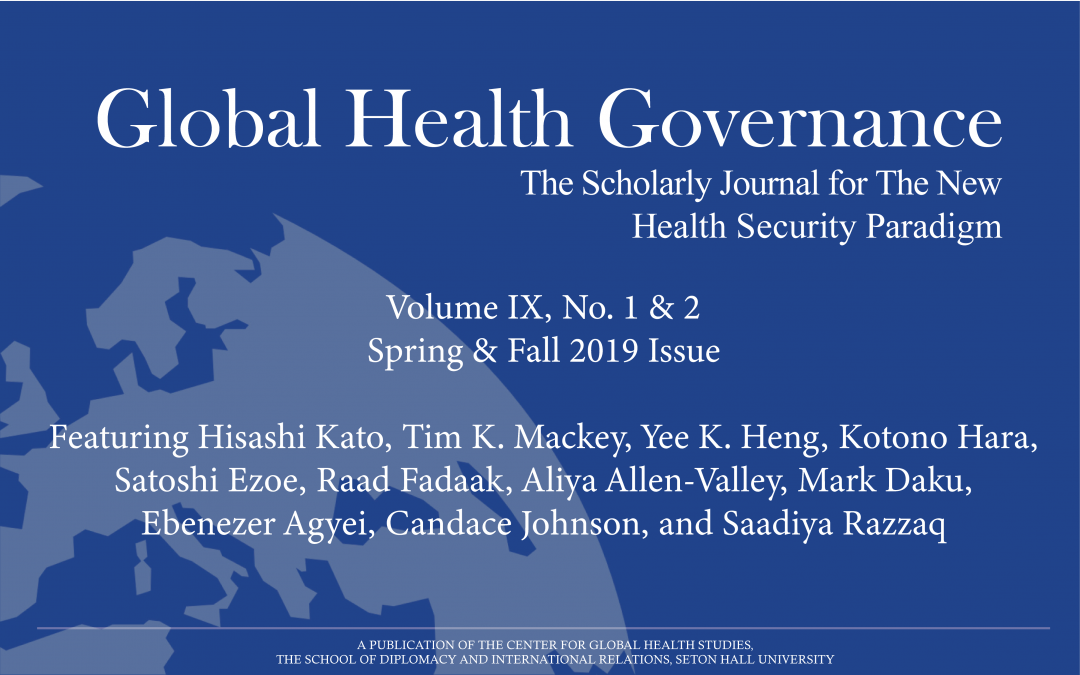 Why Does Global Health Matter to Diplomacy? Global Health as a Security and Economic Challenge and as an Opportunity for World Leaders, With a Special Focus on The G7 Ise-Shima Summit
