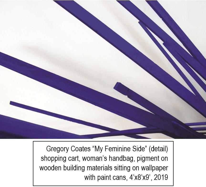"Gregory Coates ""My Feminine Side"" (detail)"