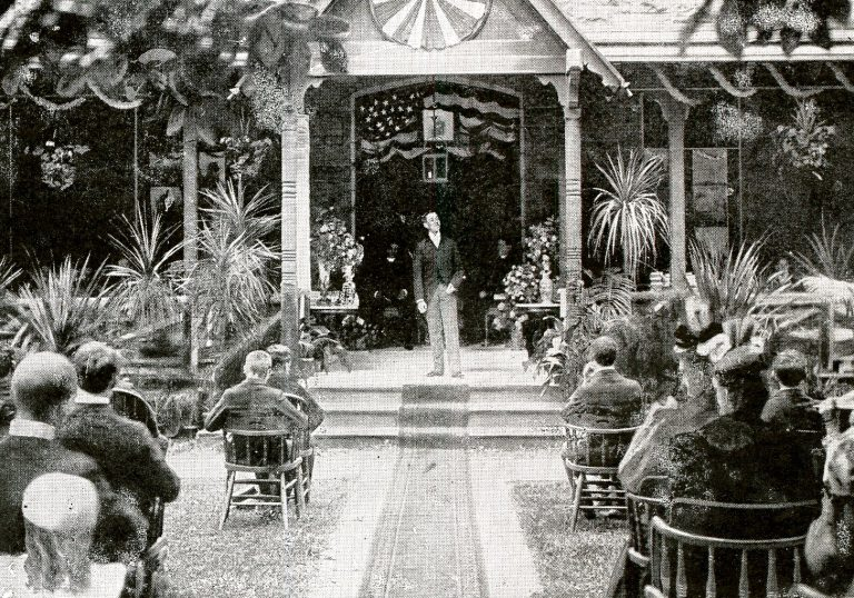 Seton Hall Commencement, 1885