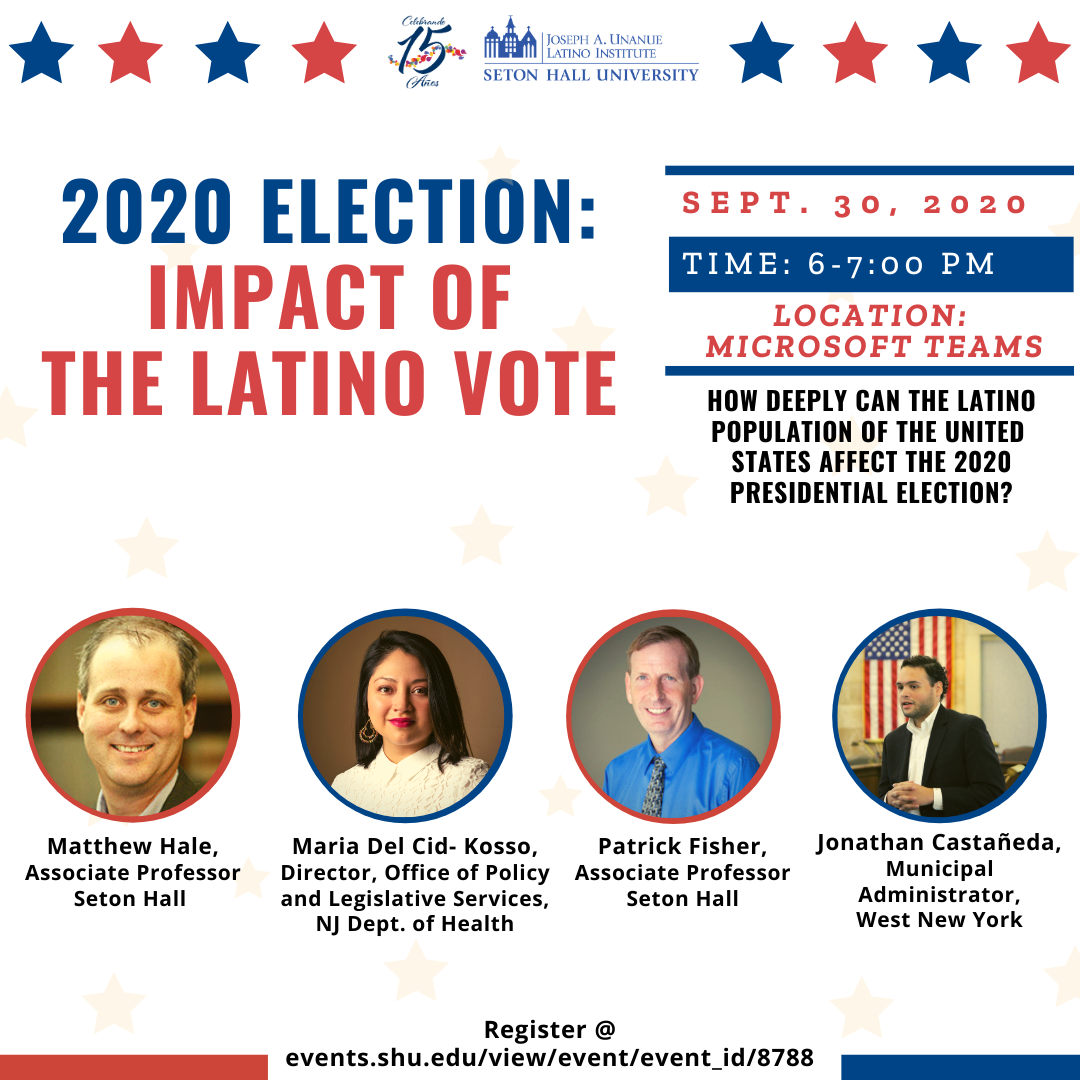 Online Discussion: 2020 Election—The Impact of the Latino Vote