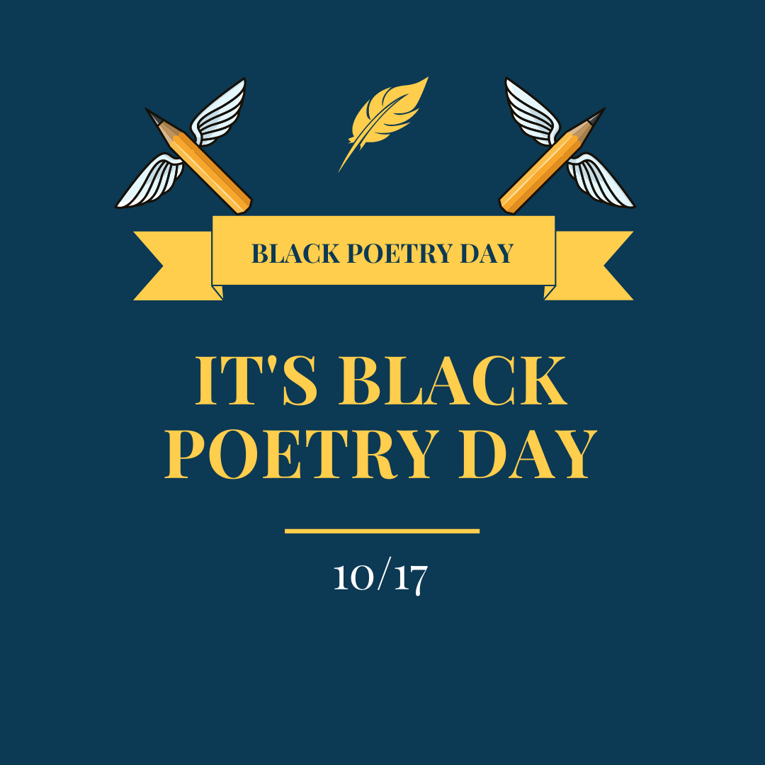 Celebrate National Black Poetry Day