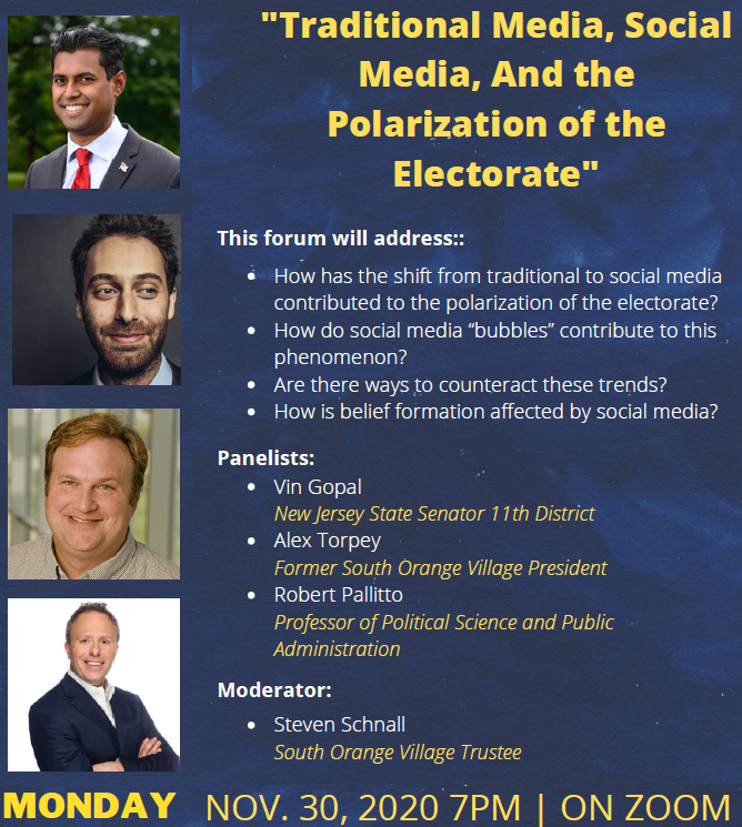 Online Forum: Traditional Media, Social Media, and the Polarization of the Electorate