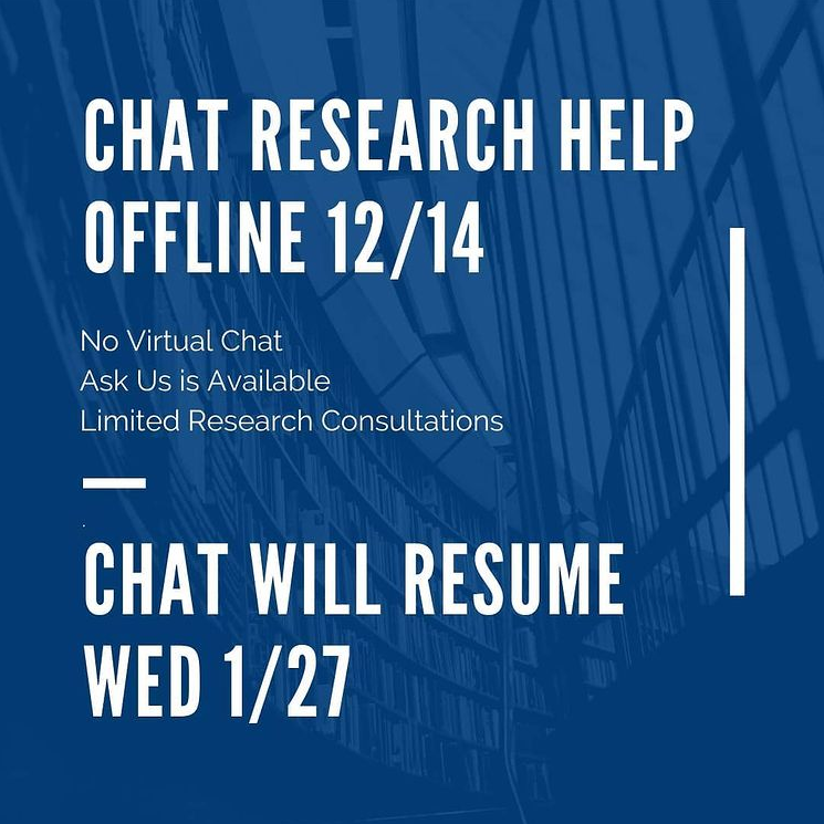 Chat Research Help Offline