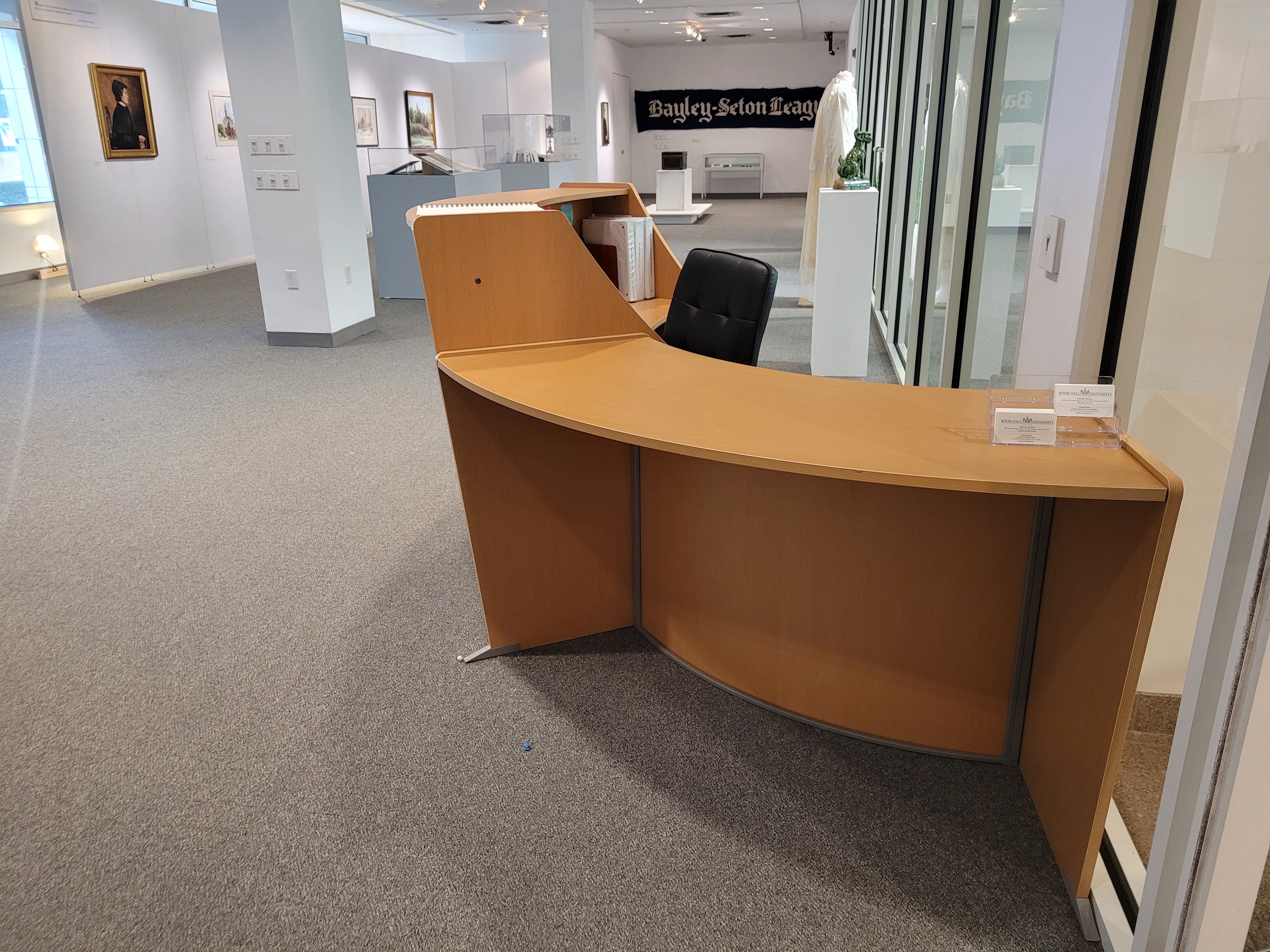 Gallery Welcome Desk