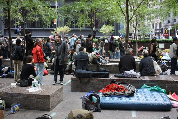 Occupy Wall Street - History of New York City
