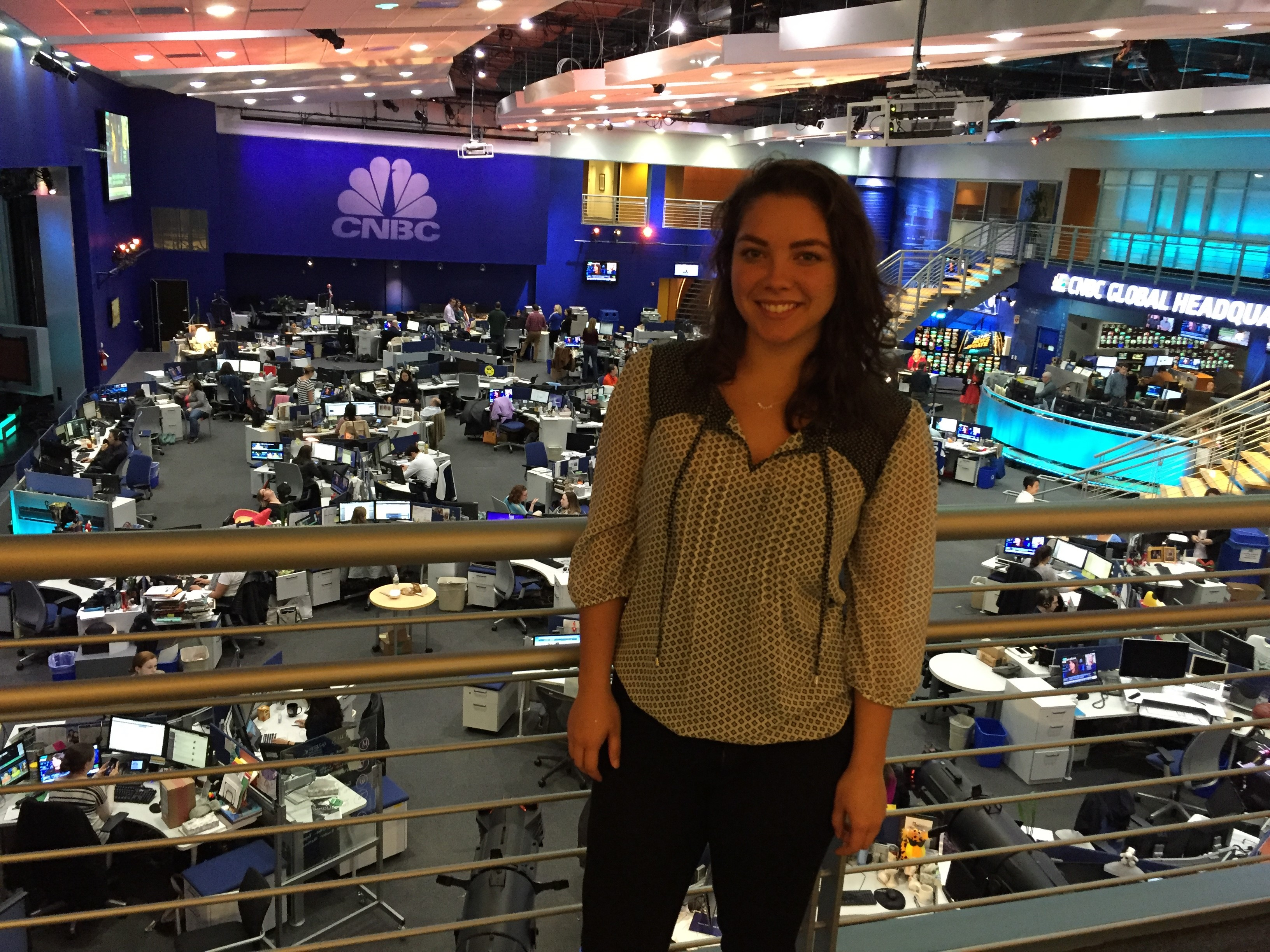 Internship Blog Series: CNBC