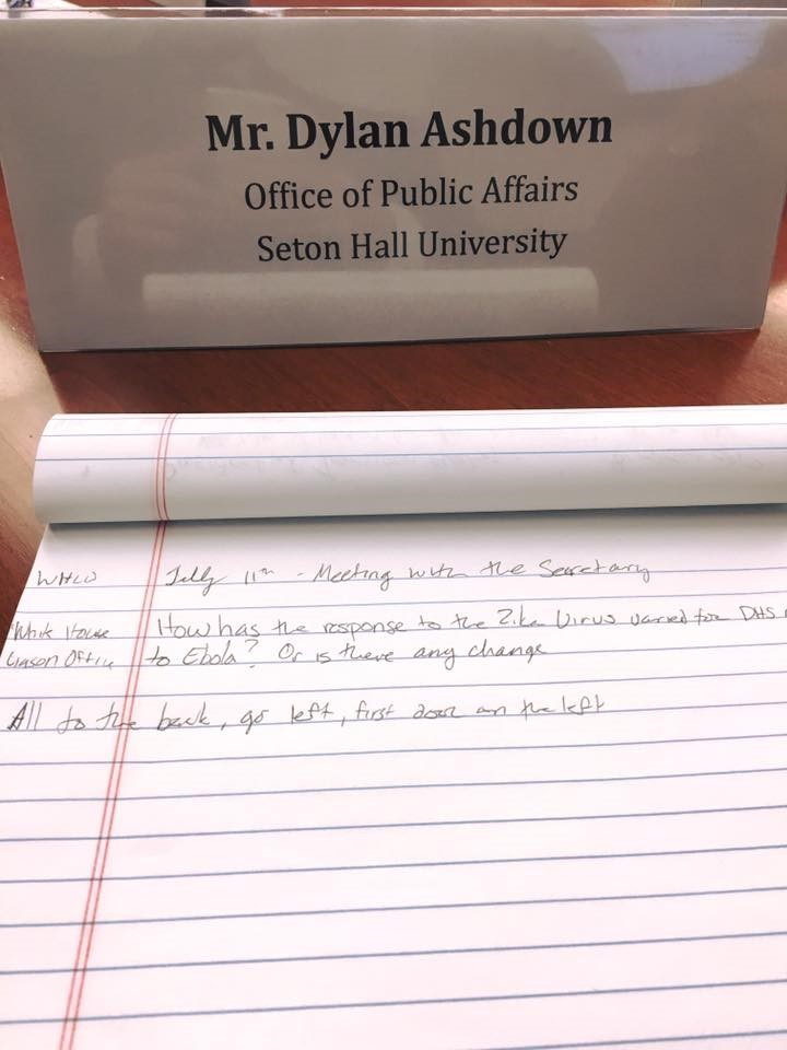 Internship Blog Series-Dylan Ashdown-Office of Public Affairs, U.S. Department of Homeland Security