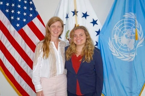 At the U.N. as a U.S. Department of State Intern
