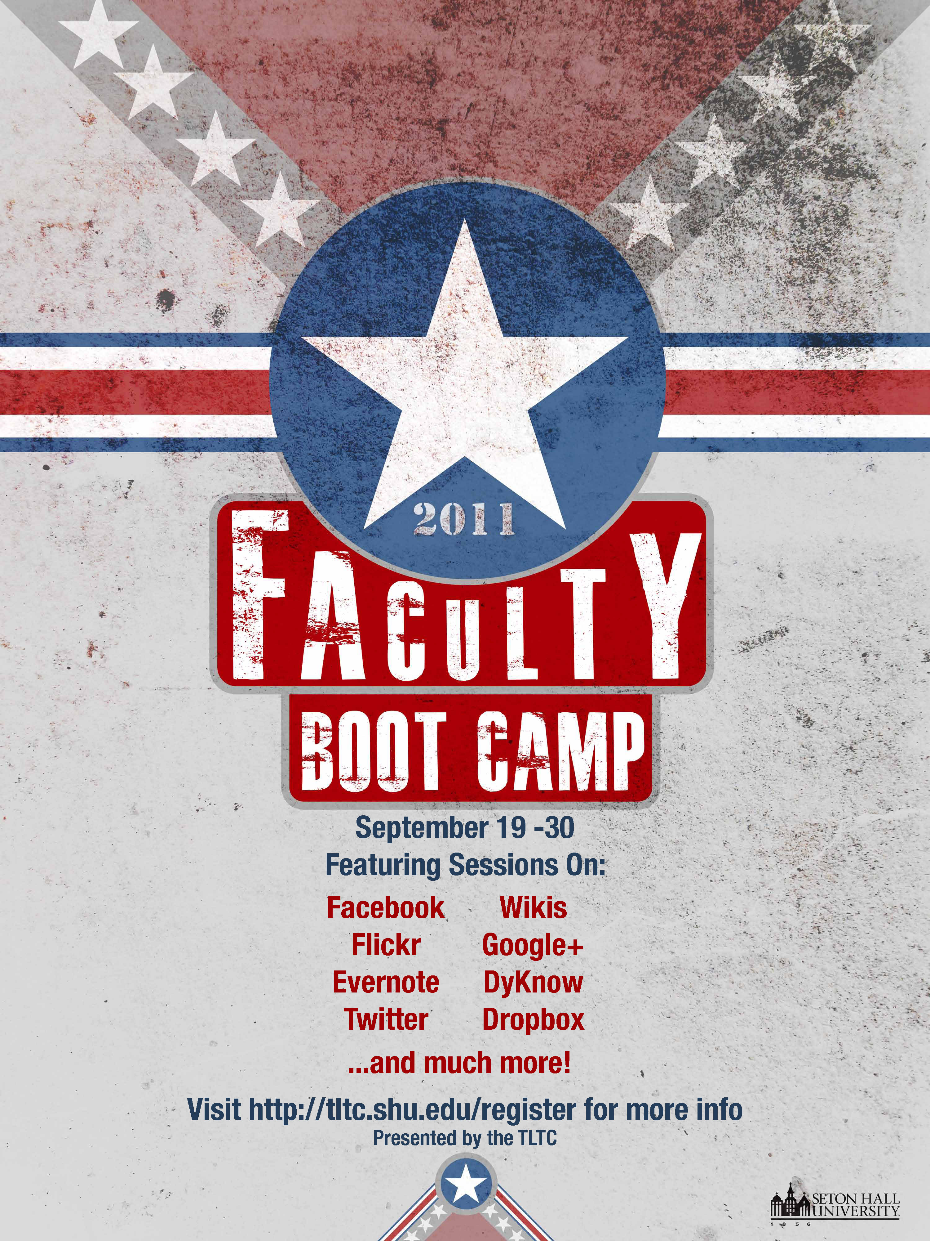 Faculty Boot Camp Poster