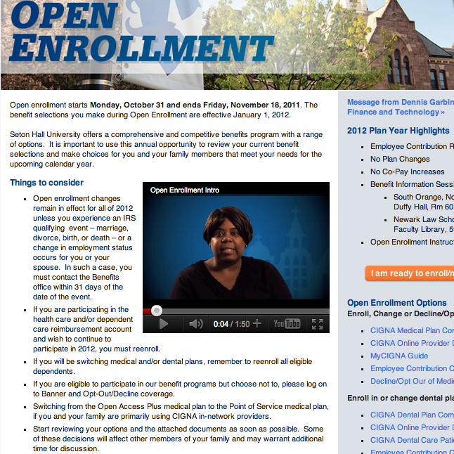 HR Open Enrollment – Intro