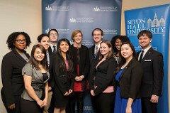 US Ambassador to the UN Samantha Power Speaks at Seton Hall