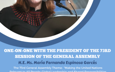 One-On-One With H.E. Ms. Maria Fernanda Espinosa Garces