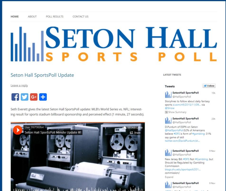 Sports Poll