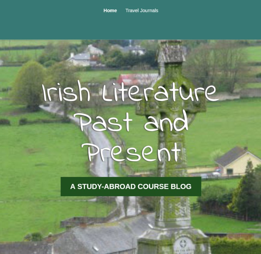 Irish Literature Past and Present