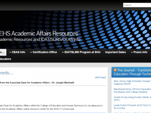 CEHS Academic Affairs Resources