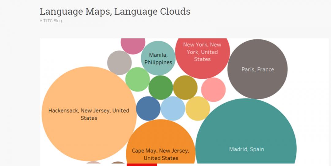 Language Maps, Language Clouds