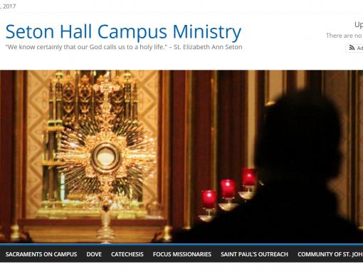 Seton Hall Campus Ministry