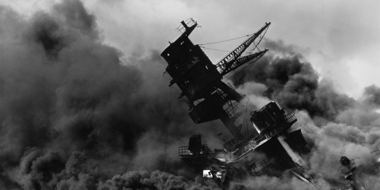 Japan Mounts Surprise Attack on Pearl Harbor