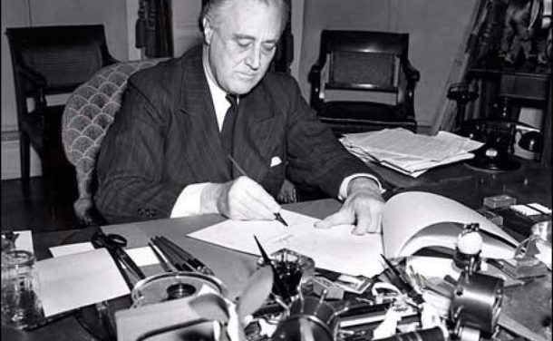 President Roosevelt focuses on war in State of the Union address