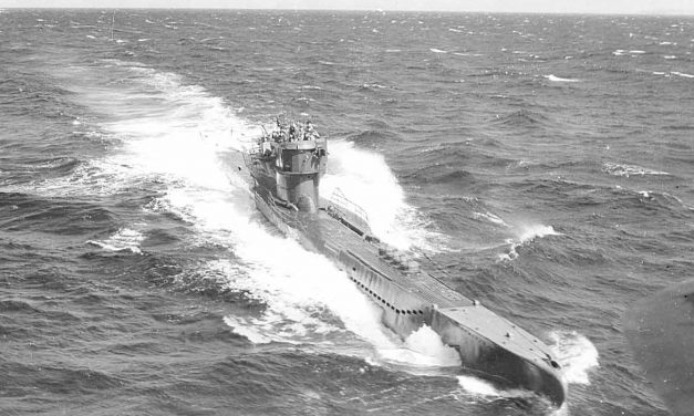 U.S. ships torpedoed by enemy submarine off Virginia