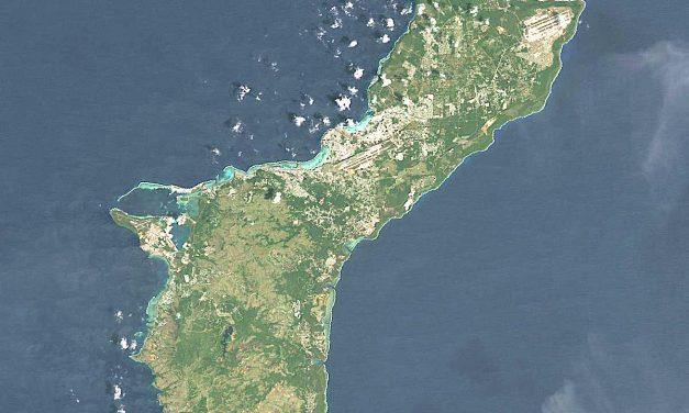 Guam taken by Japanese