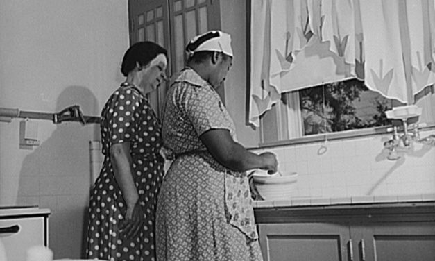 With Women Entering War Work, Nannies and Maids Become Scarce